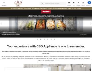 cbdappliance.com screenshot