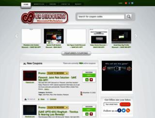 cbdiscounts.com screenshot