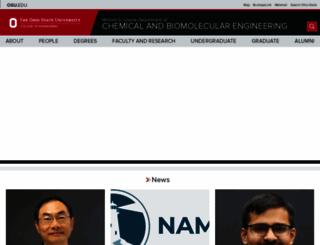 cbe.osu.edu screenshot
