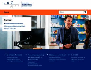 cbg-meb.nl screenshot