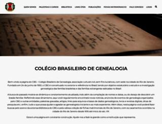 cbg.org.br screenshot