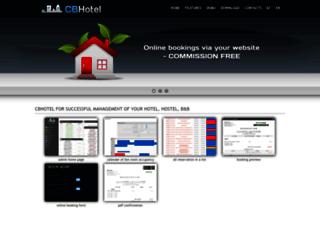 cbhotel.eu screenshot