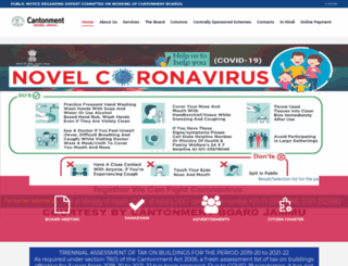 cbjammu.org screenshot