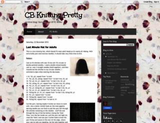 cbknit.blogspot.com screenshot