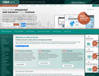 cbmcard.com screenshot
