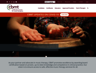 cbmt.org screenshot