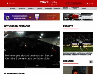 cbncuritiba.com.br screenshot