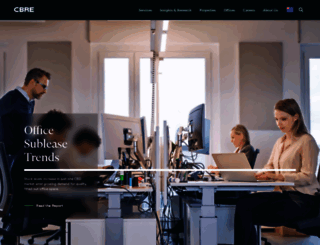 cbre.com.au screenshot