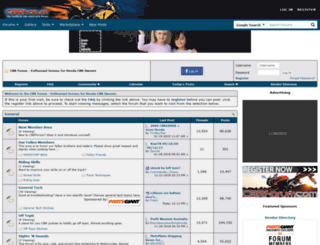 cbrforum.com screenshot