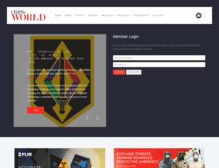 cbrneworld.com screenshot