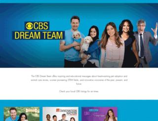 cbsdreamteam.com screenshot