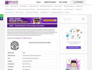 cbse.edurite.com screenshot