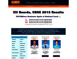 cbse.fiitjee.com screenshot