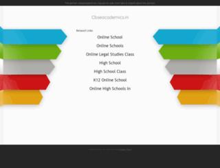 cbseacademics.in screenshot