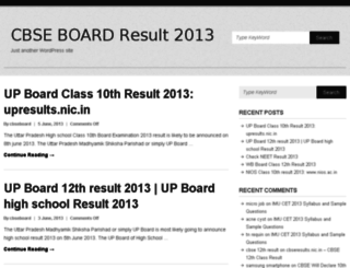 cbseboard10th12thresult.in screenshot