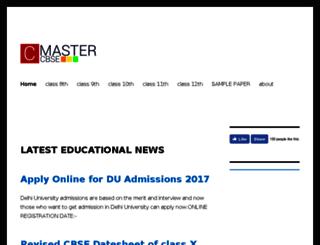 cbsemaster.com screenshot