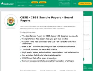 cbsemeritnation.com screenshot