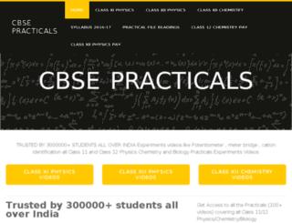 cbsepracticals.weebly.com screenshot
