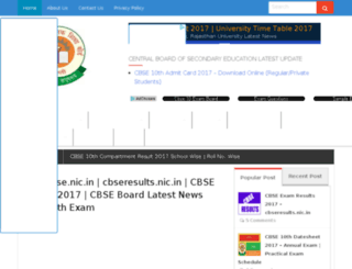 cbseresult-snic.in screenshot