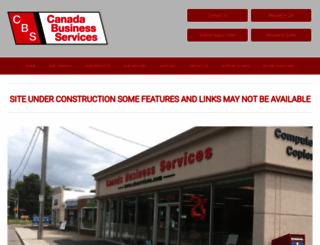 cbservices.com screenshot