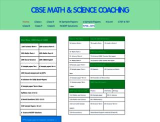 cbsesmart.weebly.com screenshot