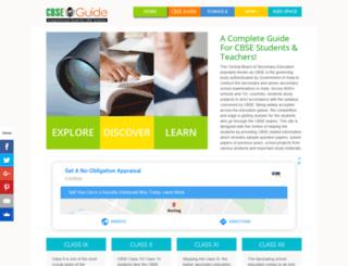 cbsesyllabus.net screenshot