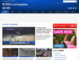 cbsla.wordpress.com screenshot