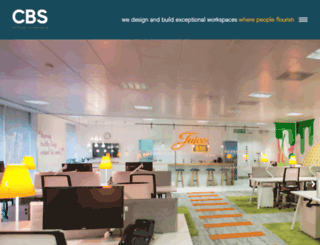cbsofficeinteriors.co.uk screenshot
