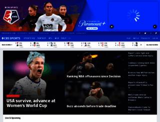 cbssports.com screenshot