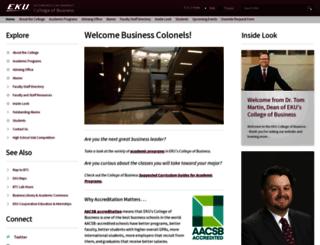 cbt.eku.edu screenshot
