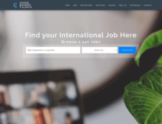 cbtalents.com screenshot