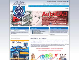 cbtcollege.pk screenshot