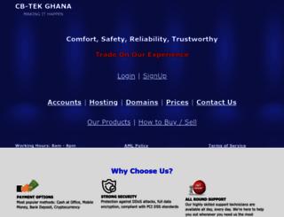cbtekghana.com screenshot
