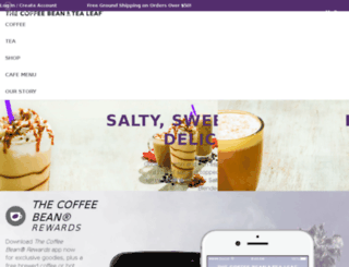 cbtl.coffeebean.com screenshot