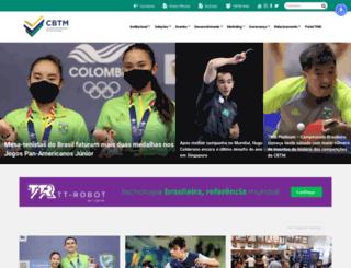 cbtm.org.br screenshot