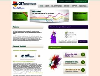 cbtsolutions.co.uk screenshot