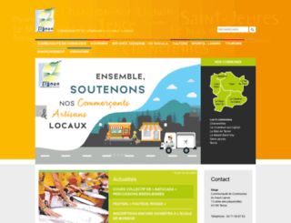 cc-hautlignon.fr screenshot