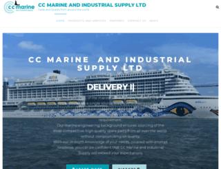 cc-marine.co.uk screenshot