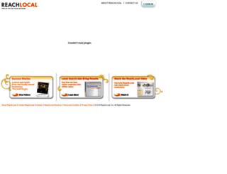 cc.reachlocal.com screenshot