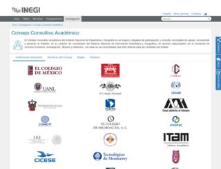cca.inegi.org.mx screenshot