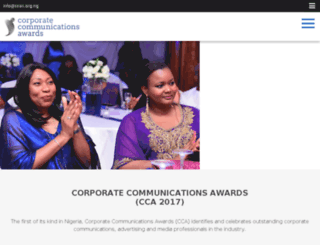 ccas.org.ng screenshot
