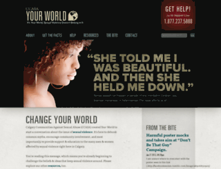ccasayourworld.com screenshot
