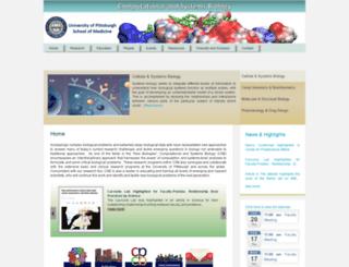 ccbb.pitt.edu screenshot
