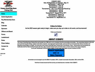 ccbgfc.org screenshot
