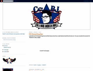 ccbjforamoreamericaninbox.blogspot.com screenshot