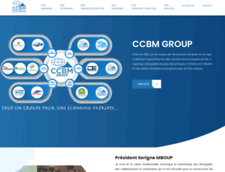 ccbm.sn screenshot
