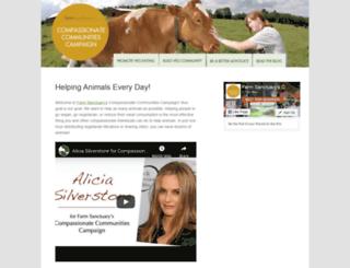 ccc.farmsanctuary.org screenshot