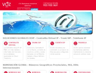 ccc.globaltel.es screenshot