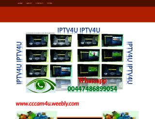 cccam4u.weebly.com screenshot