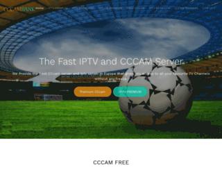 cccammania.com screenshot